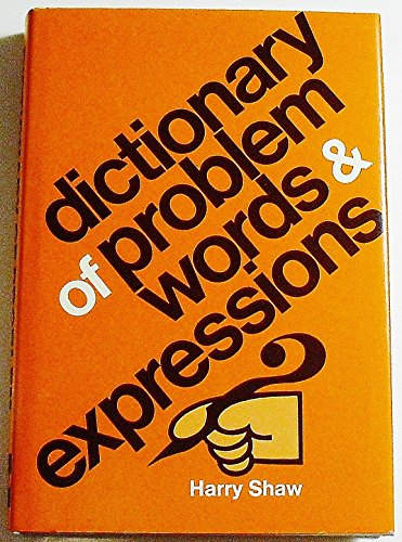 9780070564893: Dictionary of Problem Words and Expressions