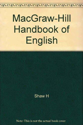 9780070564930: MacGraw-Hill Handbook of English