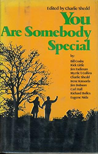 9780070565098: You are somebody special