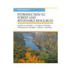 9780070565678: Introduction To Forest and Renewable Resources