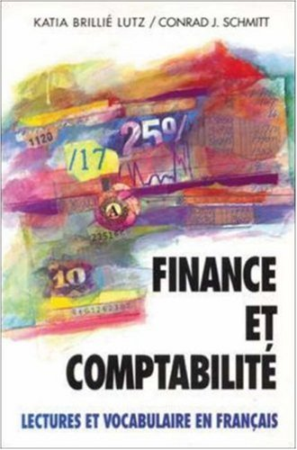 9780070568105: Finance Et Comptabilite: Lectures Et Vocabulaire En Francais, (Finance and Accounting)