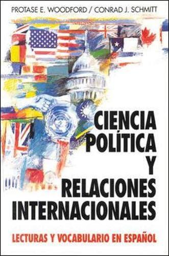 9780070568198: Ciencia Política y Relaciones Internacionales: Lecturas y Vocabulario en Español (Schaum's Foreign Language Series) (Spanish Edition)