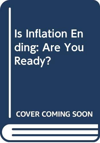 9780070568792: Is Inflatn Ending?Ready?-W/B 29