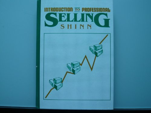 9780070569065: An Introduction to Professional Selling (The Gregg/McGraw-Hill marketing series)