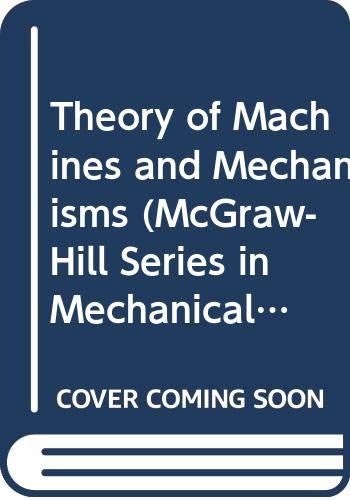 9780070569300: Theory of Machines and Mechanisms