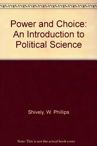 9780070569942: Power and Choice: Introduction to Political Science