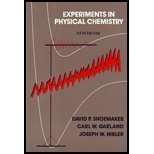 9780070570078: Experiments in Physical Chemistry