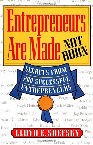 9780070570252: Entrepreneurs are Made Not Born