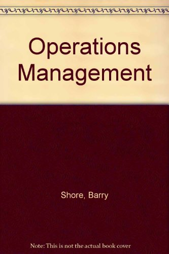 9780070570450: Operations Management