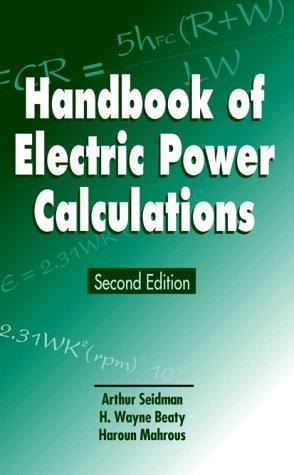 9780070570481: Handbook of Electric Power Calculations