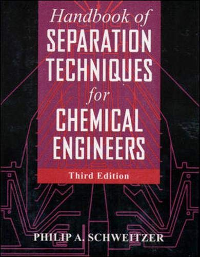 9780070570610: Handbook of Separation Techniques for Chemical Engineers
