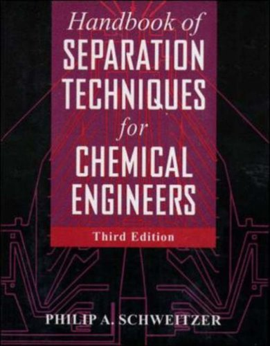 9780070570610: Handbook of Separation Techniques for Chemical Engineers (Chemical engineering books)