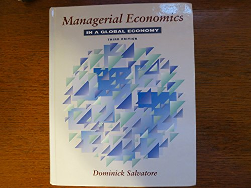 9780070571150: Managerial Economics in a Global Economy
