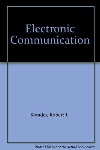 9780070571372: Electronic Communication