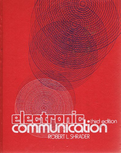 9780070571389: Electronic Communication