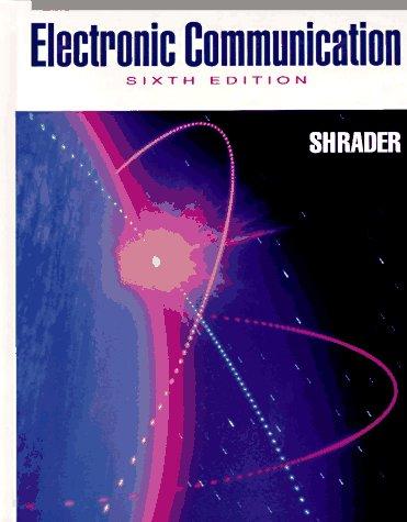 9780070571570: Electronic Communication