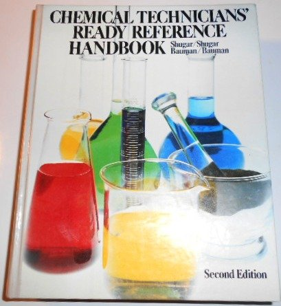 9780070571761: Chemical technicians' ready reference handbook