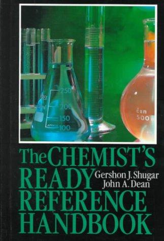 9780070571785: The Chemist's Ready Reference Handbook