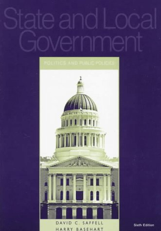 9780070571921: State and Local Government: Politics and Public Policies