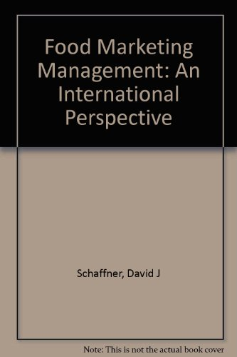 9780070572065: Food Marketing Management: An International Perspective