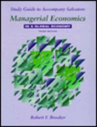 9780070572232: Managerial Economics in a Global Economy: Study Guide