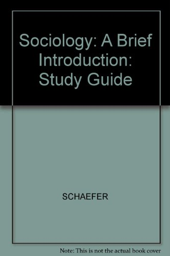9780070572423: Student's Guide to Accompany Sociology: A Brief Introduction
