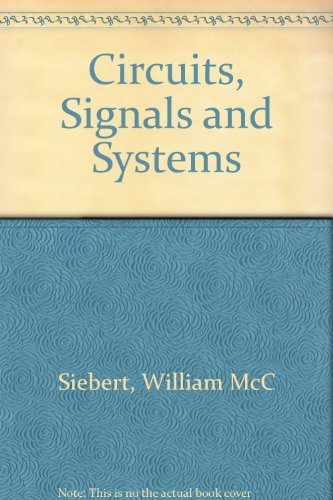 9780070572904: Circuits, Signals and Systems