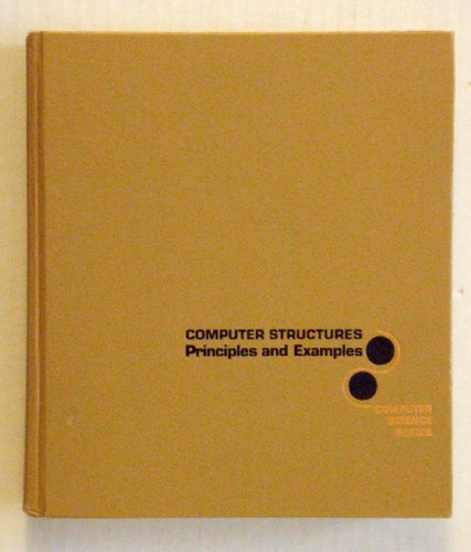 9780070573024: Computer Structures: Principles and Examples (McGraw-Hill computer science series)