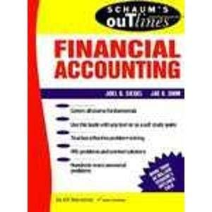 9780070573048: Schaum's Outline of Theory and Problems of Financial Accounting
