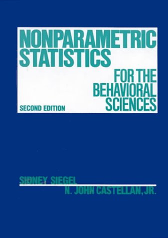 9780070573574: Nonparametric Statistics for Behavioural Science