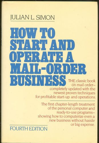 9780070575318: How to Start and Operate a Small Mail Order Business