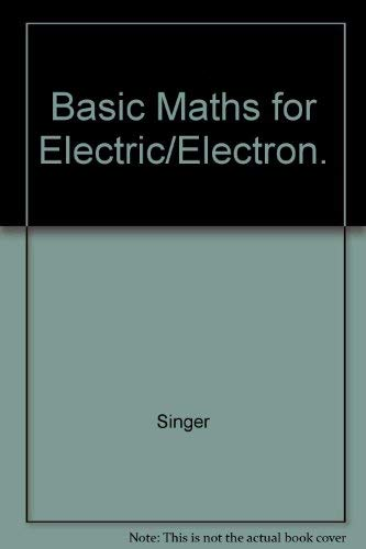 9780070575424: Basic Maths for Electric/Electron.