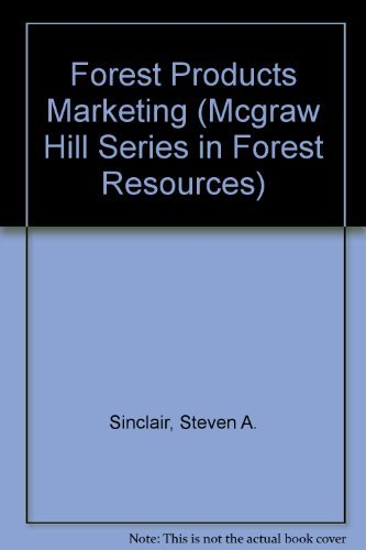9780070575462: Forest Products Marketing (Mcgraw Hill Series in Forest Resources)