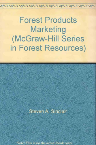9780070575479: Forest Products Marketing (McGraw-Hill Series in Forest Resources)