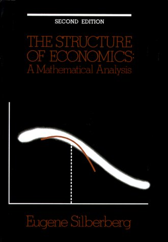 9780070575509: The Structure of Economics: A Mathematical Analysis