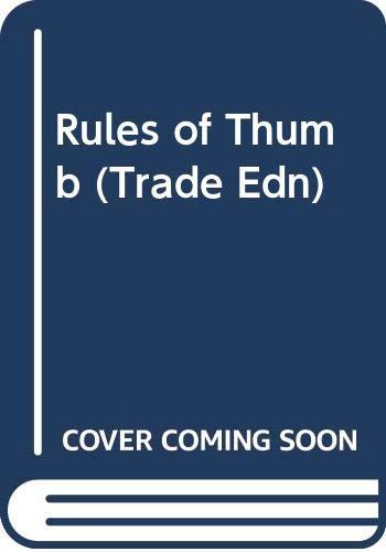 9780070575646: Rules of Thumb