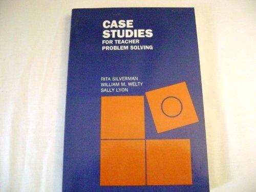 9780070575677: Case Studies for Teacher Problem Solving