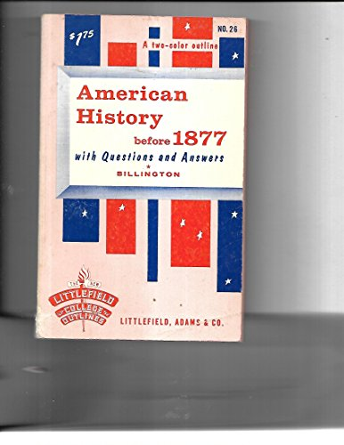 9780070575950: American History before 1877