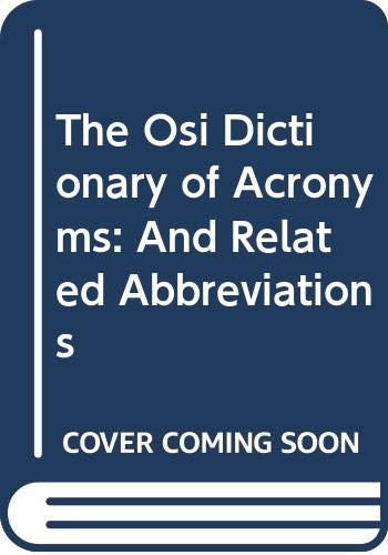 9780070576001: Concise OSI Acronym Dictionary