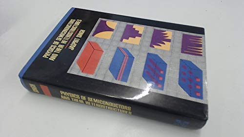 9780070576070: Physics of Semiconductors and Their Heterostructures (Mcgraw Hill Series in Electrical and Computer Engineering)