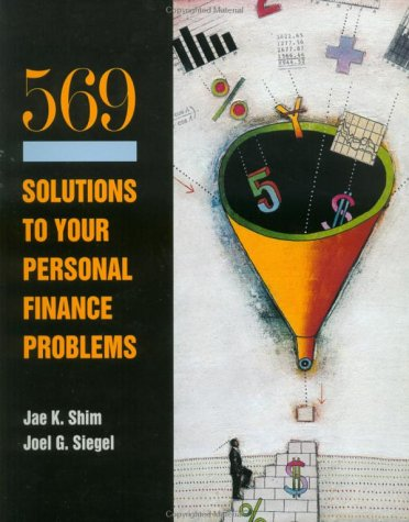 9780070576223: 569 Solutions to Your Personal Financial Problems