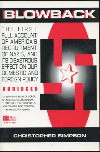 9780070576483: Blowback: The First Full Account of America's Recruitment of Nazis ABRIDGED