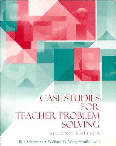 9780070576551: Case Studies for Teacher Problem Solving
