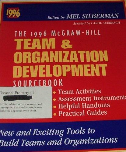 9780070576735: The 1996 McGraw-Hill Team and Organization Development Sourcebook