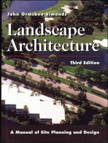 9780070577091: Landscape Architecture: A Manual of Site Planning and Design