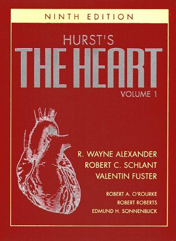 9780070577176: Hurst's the Heart, Arteries and Veins (Single Volume)