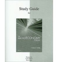 9780070578050: Study Guide to Accompany Schiller: The Macro Economy Today