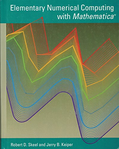 9780070578203: Elementary Numerical Computing with Mathematica (Mcgraw-Hill Computer Science Series)