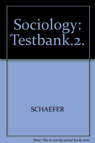 9780070578241: Sociology: Testbank.2.