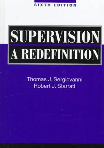 9780070578913: Supervision: A Redefinition